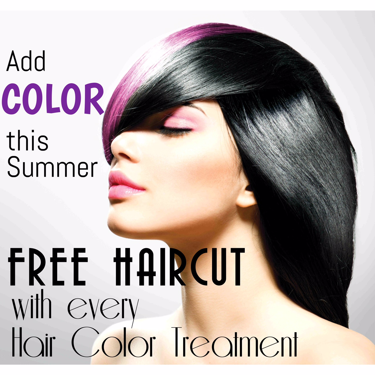 Free Haircut With Every Hair Color Treatment